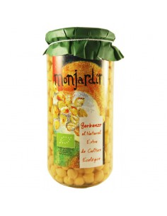 Garbanzos al natural monjardín