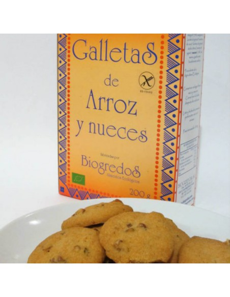 galletas de arroz y nueces biogredos