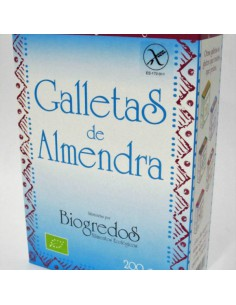 galletas de almendra biogredos
